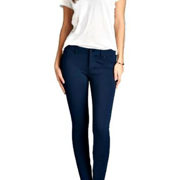 For You Navy Super Stretch Skinny Pants