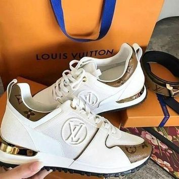 Gotopfashion LV Louis Vuitton Fashion Woman Casual Print Sneakers Shoes I