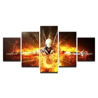 Movie Assassins Creed Printed Game Character Poster Picture Framed Unframed