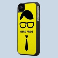 Nerd Pride Funny iPhone4 case from Zazzle.com