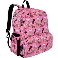 Horses in Pink Megapak Backpack - 79020