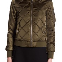 BCBGeneration | Quilted Bomber Jacket | Nordstrom Rack
