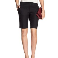 Banana Republic Womens Factory Hampton Fit Piqué Bermuda