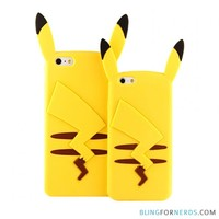 Pikachu Pokemon Case - iPhone 6