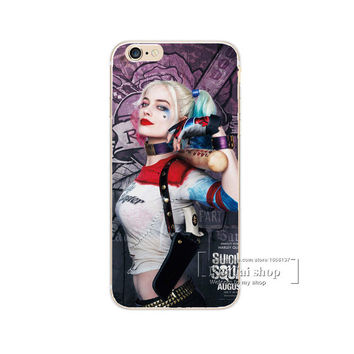 Harley Quinn Bat Holster Phone Case For iPhone 7 7Plus 6 6s Plus 5 5s SE