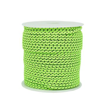 50M Reflective Rope Paracord 2.5/4MM Diameter Reflective String Windproof Tent Rope for Camping Tent Awning Outdoor Gear Lanyard