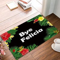 Autumn Fall welcome door mat doormat Bye Felicia - Custom Flowers s Kitchen Floor Bath Entrance Rug Mat Absorbent Indoor Bathroom Decor s Rubber AT_76_7