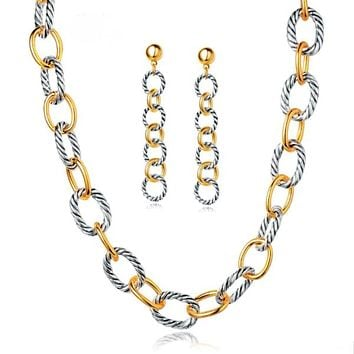 Remy Necklace and Earrings Set