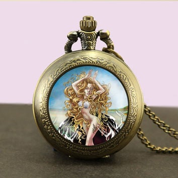 Lady gaga Locket necklace,Lady gaga Pocket Watch Necklace,Lady gaga fob watch locket necklace