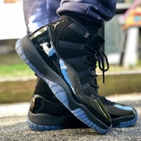 """Air Jordan 11 Retro """"Blackout"""" """"Prom Night"""" """"Cap and Gown"""" 2018 - Best Deal Online"""
