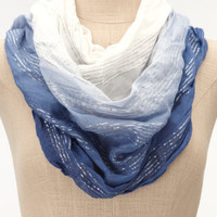 Charlotte Russe - Sea Spray Infinity Scarf