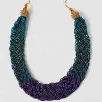 TIMOR BRAIDED SEED BEAD NECKLACE