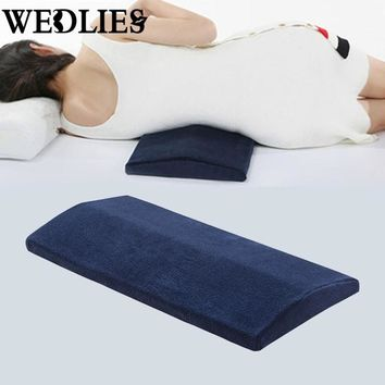 Bamboo Charcoal Lumbar Legs Pillow Triangle Sleeping Waist Back Support Cushion Pad Pregnant Pillow Cervical Protect Bedding