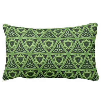 Celtic Kelly Green Lumbar Pillow