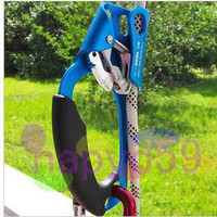 new anti-dropping device protector 8-12mm rope right left hand risers outdoor aid climb risers mountaineer climbing ascender tool equipment