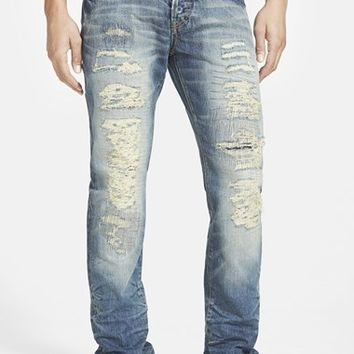 Men's PRPS 'Demon - Contortions' Slim Straight Leg Jeans ,