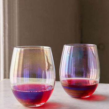 Luster Stemless Glasses Set - Urban Outfitters