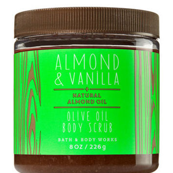 ALMOND & VANILLAOlive Oil Body Scrub