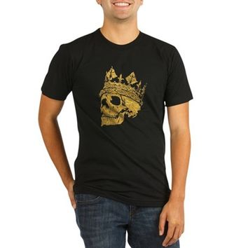 King Midas Organic Men's Fitted T-Shirt (dark)