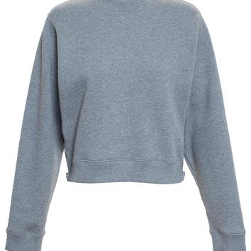 Bird Cropped Sweatshirt - ACNE STUDIOS