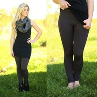 The Perfect Leggings in Charcoal