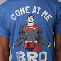 Urban Outfitters - Superman Come At Me Bro Tee