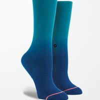 Stance Faded Ombre Crew Socks - Womens Scarves - Blue - One