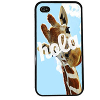Giraffe Case / Cute iPhone 4 Case Animal iPhone 5 Case iPhone 4S Case iPhone 5S Case Meme Trendy Iphone Case