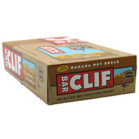Clif Bar Energy Bar Banana Nut Bread 12 Bars