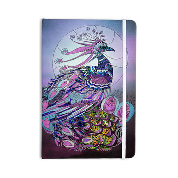 "Catherine Holcombe ""Peacock"" Purple Lavender Everything Notebook"