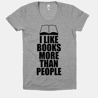 I Like Books More Than People