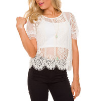 Frida Lace Top