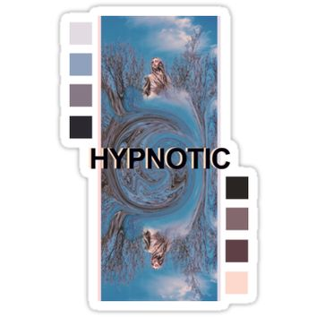 'Hypnotic // Zella Day' Sticker by violenxe
