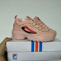 """FILA"" Women All-match Fashion Letter Thick Bottom Shoes Casual Sneakers"