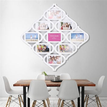 Multi Photoframe Family Love Frames Collage Picture Aperture Wall Photo Home Decor