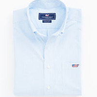 Flag Whale Fine Line Tucker Shirt