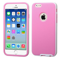 MYBAT Candy Belly Soft Cover Case for iPhone 6 - White/Pink