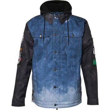 686 Limited 55DSL Americana Denim Jacket - Men's Indigo Denim,