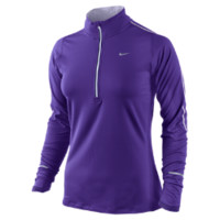 Nike Element Half-Zip Women's Running Top - Electro Purple