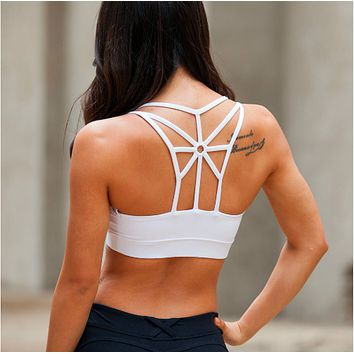 Women Running Padded Sports Bra