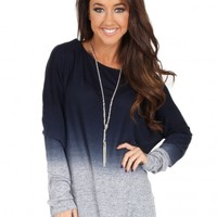 Anything At All Top in Navy | Monday Dress Boutique