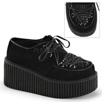 Demonia Creeper with Studded Pyramid Studs