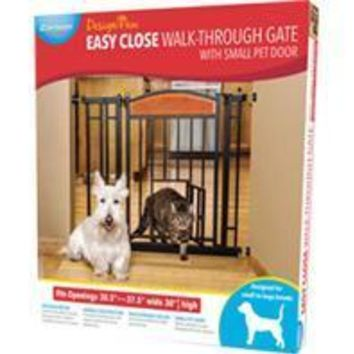 Carlson Pet Products-Design Paw Auto Close Gate