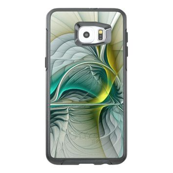 Fractal Evolution, abstract Art OtterBox Samsung Galaxy S6 Edge Plus Case