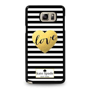 KATE SPADE LOVE Samsung Galaxy Note 5 Case Cover
