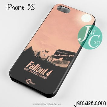 Fallout 4 War Never Changes 2 Phone case for iPhone 4/4s/5/5c/5s/6/6 plus
