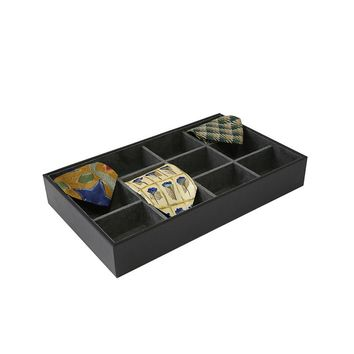 Bey-Berk Tie Storage Case (Black)