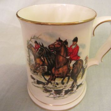 Royal Grafton Fine Bone China English Hunting Tankard Mug