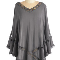 ModCloth Boho Long Flowing Places Top