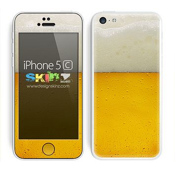 Foaming Beer Skin For The iPhone 5c